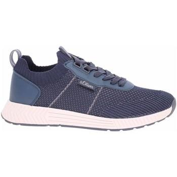 Chaussures Homme Baskets basses S.Oliver 551360326805 Bleu marine