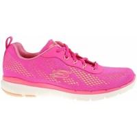Chaussures Femme Baskets basses Skechers Flex Appeal 30 Rose