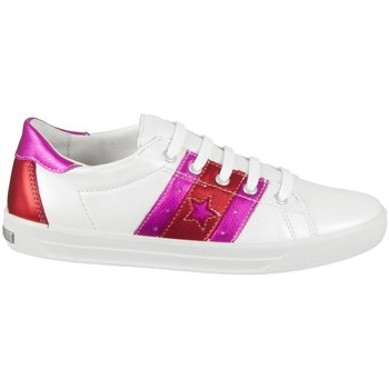 Chaussures Fille Baskets basses Ricosta Naomi Blanc