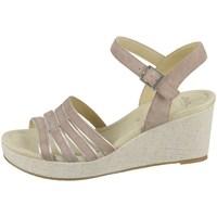 Chaussures Femme Sandales et Nu-pieds Ara Riccione HS Beige