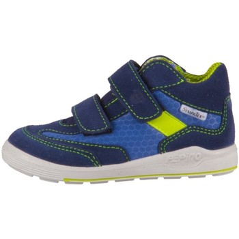 Chaussures Garçon Baskets montantes Ricosta Rico Bleu, Bleu marine