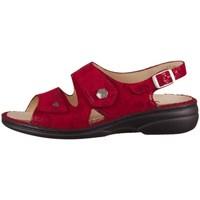 Chaussures Femme Sandales et Nu-pieds Finn Comfort Milos Rouge