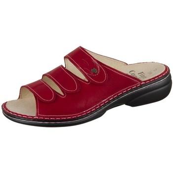 Chaussures Femme Mules Finn Comfort Kos Rouge, Bordeaux
