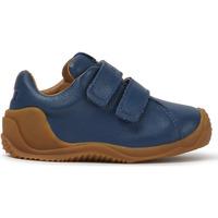 Chaussures Garçon Baskets basses Camper Baskets cuir DADDA bleumarin