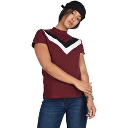 Vêtements Femme T-shirts manches courtes Project X Paris Tee Shirt Bordeaux