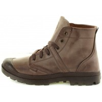 Chaussures Homme Baskets montantes Palladium Pallabrouse Lea 2 Taupe