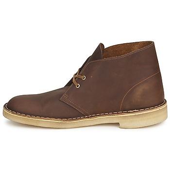clarks desert boot marron livraison gratuite avec chaussures boot homme 139 00. Black Bedroom Furniture Sets. Home Design Ideas
