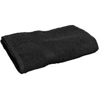 Maison & Déco Serviettes et gants de toilette Towel City 30 cm x 50 cm RW2880 Noir