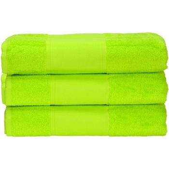 Maison & Déco Serviettes et gants de toilette A&r Towels 50 cm x 100 cm Vert citron