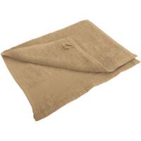 Maison & Déco Serviettes et gants de toilette Sols 30 cm x 50cm Beige