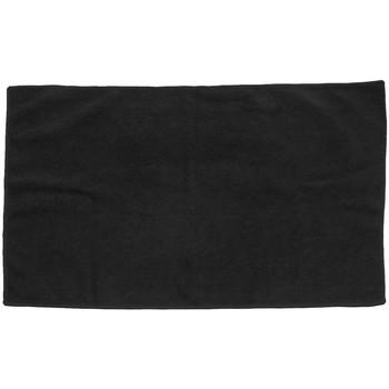 Maison & Déco Serviettes et gants de toilette Towel City Taille unique Noir