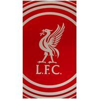Maison & Déco Serviettes et gants de toilette Liverpool Fc Taille unique Rouge/blanc