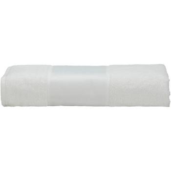 Maison & Déco Serviettes et gants de toilette A&r Towels 50 cm x 100 cm Blanc