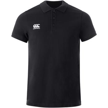 Vêtements Polos manches courtes Canterbury  Noir