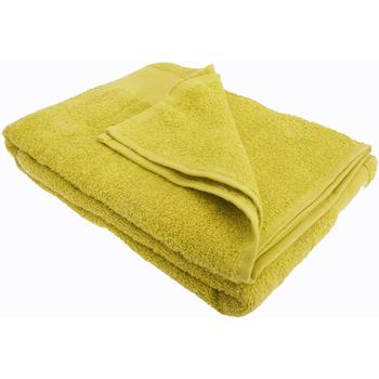 Maison & Déco Serviettes et gants de toilette Sols Taille unique Citron