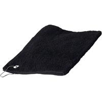 Maison & Déco Serviettes et gants de toilette Towel City 30 cm x 50 cm RW1579 Noir
