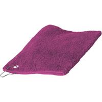 Maison & Déco Serviettes et gants de toilette Towel City 30 cm x 50 cm RW1579 Fuchsia