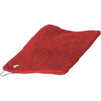 Maison & Déco Serviettes et gants de toilette Towel City 30 cm x 50 cm RW1579 Rouge