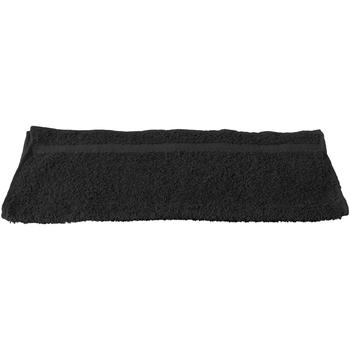 Maison & Déco Serviettes et gants de toilette Towel City RW1575 Noir