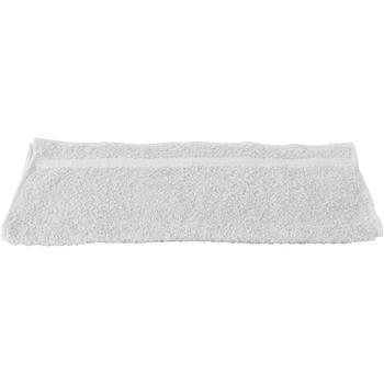 Maison & Déco Serviettes et gants de toilette Towel City RW1575 Blanc