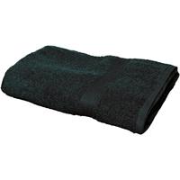 Maison & Déco Serviettes et gants de toilette Towel City RW1578 Noir