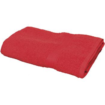 Maison & Déco Serviettes et gants de toilette Towel City Taille unique Rouge