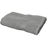 Maison & Déco Serviettes et gants de toilette Towel City RW1578 Gris métallique
