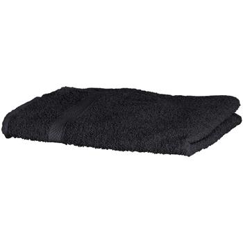 Maison & Déco Serviettes et gants de toilette Towel City RW1576 Noir