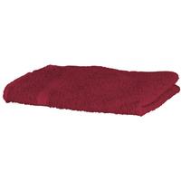 Maison & Déco Serviettes et gants de toilette Towel City RW1576 Rouge profond