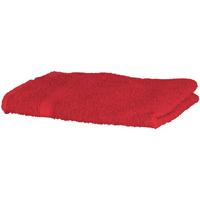 Maison & Déco Serviettes et gants de toilette Towel City RW1576 Rouge