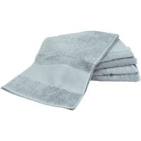Maison & Déco Serviettes et gants de toilette A&r Towels Taille unique Gris clair