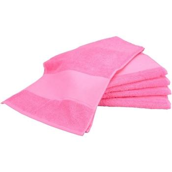 Maison & Déco Serviettes et gants de toilette A&r Towels Taille unique Rose