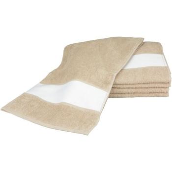 Maison & Déco Serviettes et gants de toilette A&r Towels 30 cm x 140 cm Sable