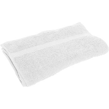 Maison & Déco Serviettes et gants de toilette Towel City RW1584 Blanc