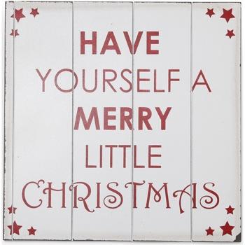 Maison & Déco Votre conseiller est en train décrire Christmas Shop Taille unique (40 x 40 cm) Blanc/Rouge