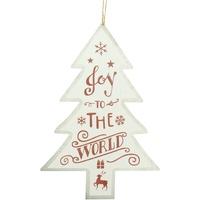 Maison & Déco Votre conseiller est en train décrire Christmas Shop Taille unique Blanc Joy To The World