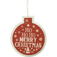 Maison & Déco Votre conseiller est en train décrire Christmas Shop Taille unique Rouge Ho Ho Ho