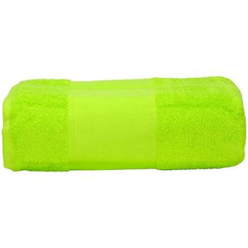 Maison & Déco Serviettes et gants de toilette A&r Towels Taille unique Vert fluo