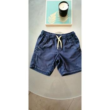 Vêtements Garçon Shorts / Bermudas Animals Short Marine Bleu