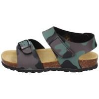 Chaussures Garçon Sandales et Nu-pieds Evoca EJ604A VERT MILITAIRE