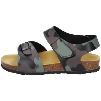 Chaussures Garçon Sandales et Nu-pieds Evoca EJ604B VERT MILITAIRE
