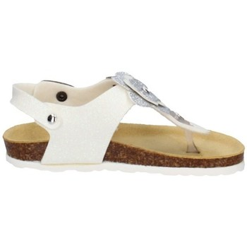 Chaussures Fille Sandales et Nu-pieds Evoca EJ110A BLANCHE