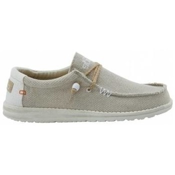 Chaussures Baskets mode Hey Dude D10620128 WALLY NATURAL 44/BLANC BLANC