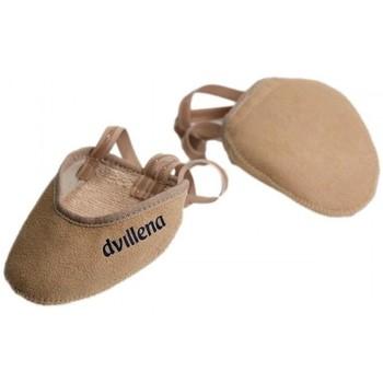 Chaussures Femme Sport Indoor Dvillena BUT DE COMPÉTITION DE GYMNASTIQUE RYTHMIQUE SANDRA Beige
