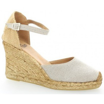 Chaussures Femme Espadrilles Pao Espadrille toile Beige