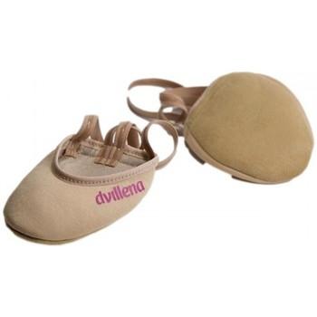 Chaussures Femme Sport Indoor Dvillena PLANCHES DE GYMNASTIQUE RYTHMIQUE RITMILOVE Beige