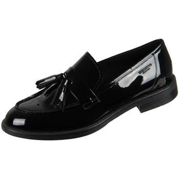 Chaussures Femme Mocassins Vagabond Shoemakers Amina Black Lack Noir