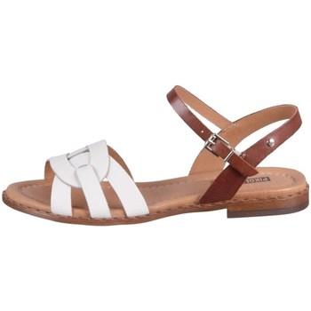 Chaussures Femme Sandales et Nu-pieds Pikolinos Algar Blanc, Marron