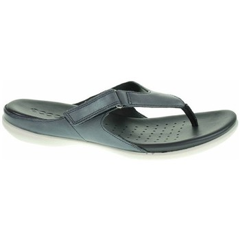 Chaussures Femme Tongs Ecco Flash Graphite