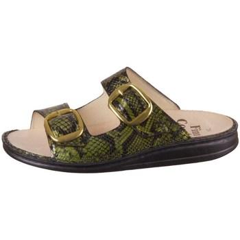 Chaussures Femme Mules Finn Comfort Lipari Noir, Vert
